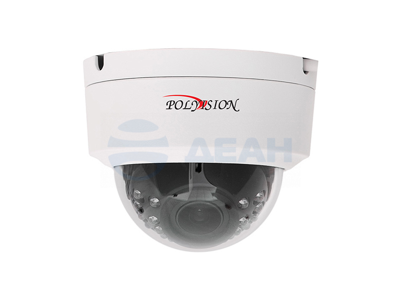 IP камера купольная PDL1-IP2-Z4MPA v.5.5.8 (Polyvision)